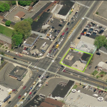 Linden Gas Station Aerial
